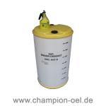 Sammelbehälter (220L) für Bremsflüssigkeit Stück