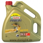 Castrol Power 1 4T 20W-50 4 Ltr. Kanne