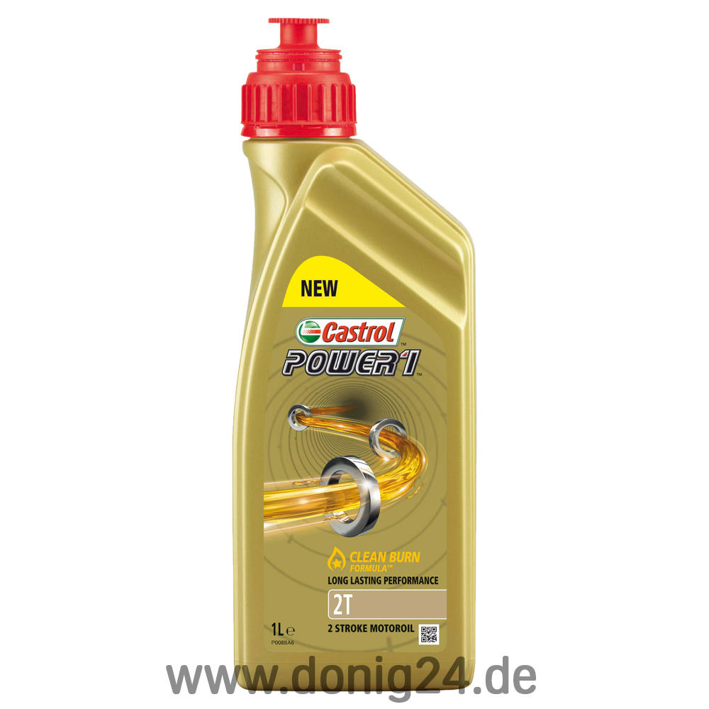 castrol power 1 2t 1 ltr dose online kaufen bei donig. Black Bedroom Furniture Sets. Home Design Ideas