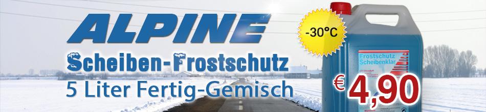 Banner Frost Scheiben Gemisch 5L