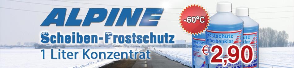 Banner Frost Scheiben Konz. 1 Liter