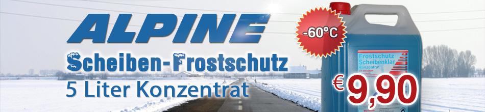 Banner Frost Scheiben Konz. 5 Liter